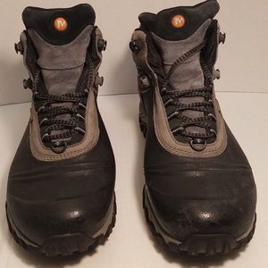 Men's Size 12 Merrel insulated waterproof Boots